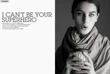 Exclusive by Alkan Emin - I can't be your superhero / Photographer and Art Director: Alkan Emin  Fashion Stylist: Lakan Tijani Swish Productions​ Makeup Artist: Jocelyn Caballero Hair Stylists: John Graham @ Aevi Salon  Model: Saveja @ Swish ModelMangement Model: Madison @ Swish ModelMangement