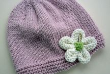 knitted flower
