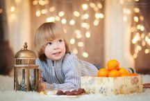 Позирование и идеи для новогодней фотосессии