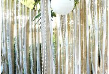 Hanging lantern backdrops