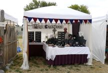 Craft Show Booth Display and Setup Ideas / by Nancy DeJesus