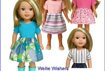 Wellie Wishers Hearts for Hearts Doll Clothes Patterns