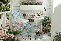 Cozy balcony / #balcony #outdoor #flat #apartment #diy #vintage #rustic
