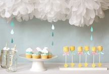 Baby Shower ideas!!! / by Marcy MacCorgarry