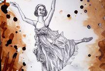 *Art work from Alena Gorshkova. Original paint*