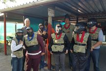 Calum's 16th Paint Ball Party