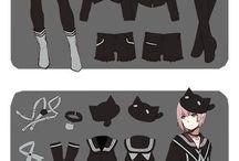 anime / clothes design