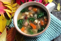 Satisfying Soups / Recipes to share
