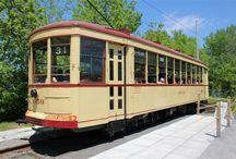 Balades en tramways / Streetcar rides / Présentation / Presentation #tramways #streetcars #electricité #electricity #rails