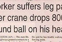 In the news...