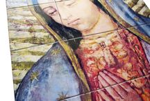 Religious tile murals by TerryTiles2014