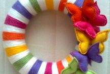 Crafts-wreaths