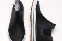 shoes - rain