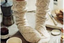 Тапочки, носочки, варежки / Для ручек и ножек