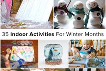 Fall/Winter Activites / Fun Activities to do with the family in the colder months / by Carol Tyner