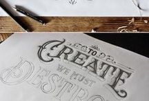 drawing lettering