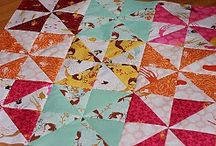 Creative Quilts / If you want to learn how to make a quilt, you've come to the right place. Check out these quilt ideas, free quilt patterns, quilt block patterns, easy baby quilt patterns and tons of great ideas.  / by AllFreeSewing