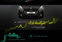1027_car website / 자동차/차/웹/웹디자인/사이트/ui/원컬러포인트