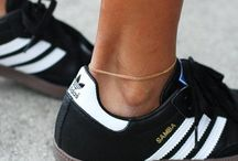 """Sneakers / Sneakers is a synonym for """"athletic shoes,"""" the generic name for the footwear primarily designed for sports or other forms of physical exercise. / by Dade Suwiryo"""