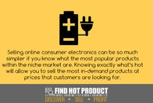 Find Hot Products / A few ideas for selling tangible products online - eBay / Amazon / TradeMe / Shopify or your own online store ... / by Dmitri Stern