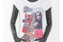 Nuovi Arrivi! Primavera 2015! T-Shirt Donna! / T-shirt con slogan e stampe a soli euro 14,90! Acquistabili su: http://www.folliebijoux.it/shop/it/45-manica-corta