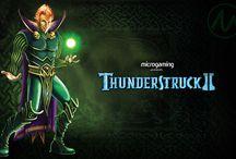Thunderstruck II / Una delle slot machine online più famose e amate al mondo, Thunderstruck II non poteva certo mancare nella collezione del Casinò Online Voglia di Vincere. Caratterizzata da una miriade di funzioni speciali, questa video slot può far vincere la strabiliante cifra di 2.430.000 monete in una delle tante partite bonus attivabili.