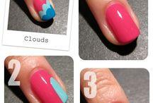Nail tutorials / Cute nail tutorials