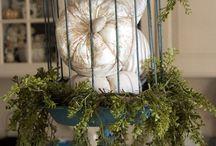 Dekoracje ganku na jesień