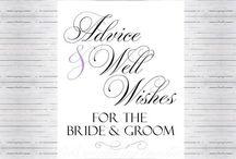 Wedding Printed Signs