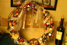 bottlecap wreath
