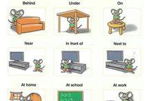 Engelska - Prepositioner