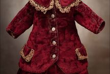 Antique Doll costumes / by Tina Runhovde Svendsen