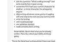 Individual scenes (advice?)