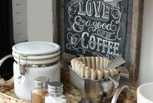 coffee bar home deco