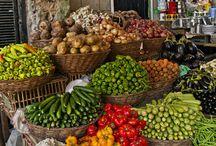 Imagini cu legume in piata