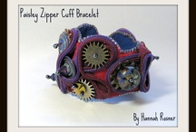 Steampunk Creations by Hannah Rosner / Also, check out my Steampunk Gypsy Cuffs Board, also here on pinterest.  Many of those items are my own and I've also highlighted some other Etsy artists.