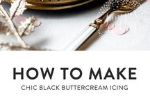 Black Buttercream