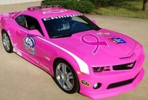 Pink Vehicles for Breast Cancer / In honour of women with Breast Cancer / by Augi de Freitas