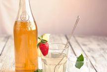 Domácí likéry a sirupy