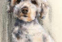 Jane Davies Watercolor
