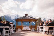 Weddings at the Silvertip Resort / Weddings shot at the Silvertip Resort in Canmore, AB by Rhiannon Sarah Photography