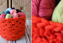 Crocheting / I am in love with all things handmade!