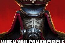 Warhammer/army jokes