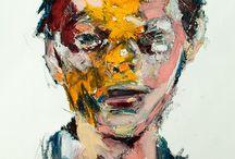 porträt abstrakt