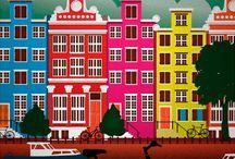 plakat holandia