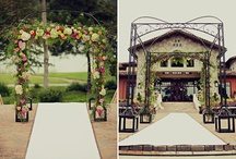Ceremonies / Wedding Ceremonies, arches, chuppas, decor and all things floral.