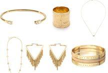 Tendance bijoux / Idée de cadeaux bijoux : bracelet, bagues, collier, ...