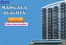 Mangala Heights / Mangala Heights is without doubt going to be Taloja's landmark structure and those who intend to buy an apartment in this premium project can expect breath-Taking views of the city landscape, Luxurious features and amenities, World class infrastructure and much more at an extremely competitive price. This tower contains 2 gardens on both side of the Tower. The project is situated very close to the upcoming Taloja metro railway station and well connected to the Mumbai Pune highway.