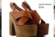 Clio 34,00€ || Γυναικεία Πέδιλα - Καφέ