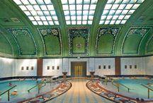 Budapesti fürdők építészeti csodái/Beautiful baths in Budapest